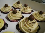 Malteaser cupcakes for hen party